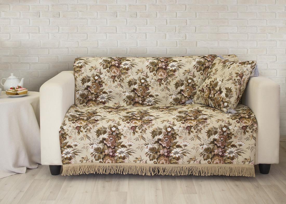 Покрывало на диван Les Gobelins Terrain Russe, 160 х 230 см покрывало les gobelins накидка на диван nectar de la fleur 150х170 см