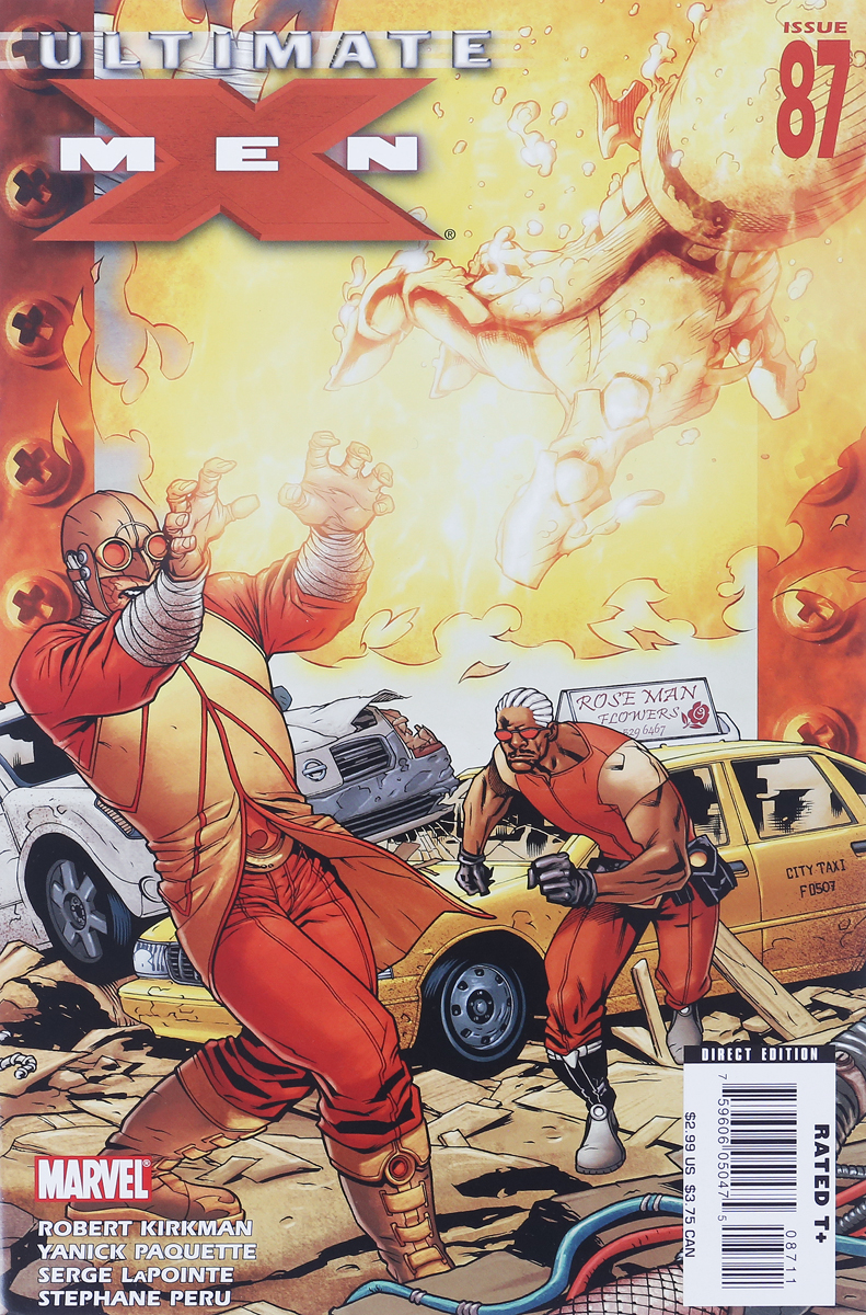 Robert Kirkman, Yanick Paquette, Serge LaPointe, Stephane Peru Ultimate X-Men #87 robert kirkman tom raney scott hanna ultimate x men 66