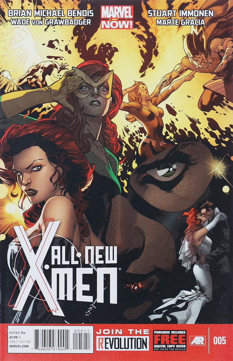 Brian Michael Bendis, Wade Von Grawbadger All-New X-Men #5