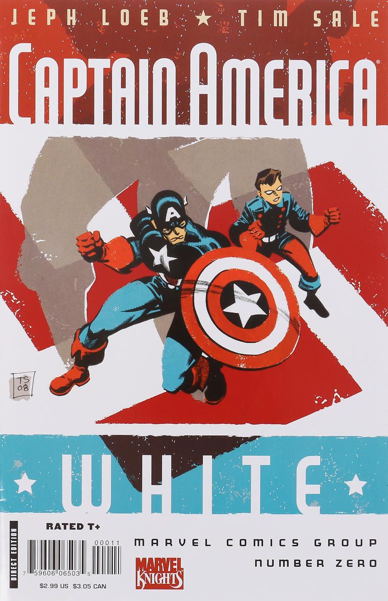 Jeph Loeb, Tim Sale Captain America: White loeb jeph ultimate comics new ultimates
