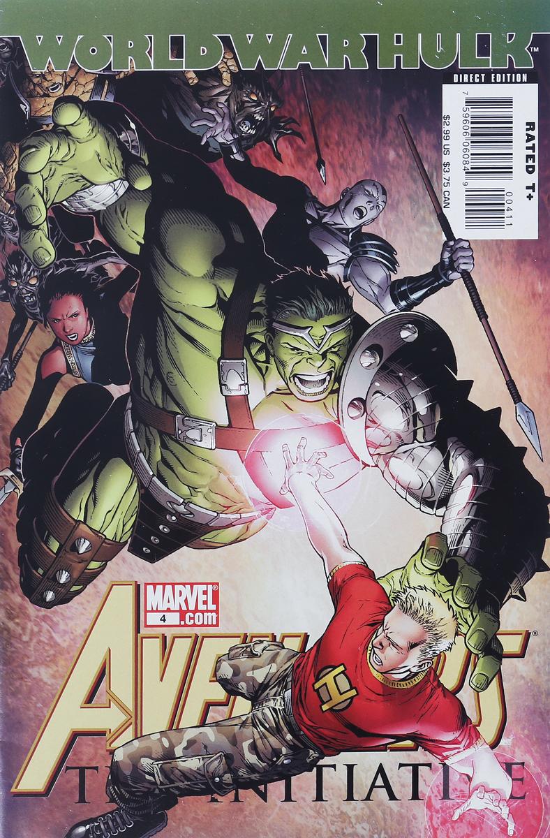 Tom Brevoort, Dan Slott Avengers: The Initiative #4 dan page 4