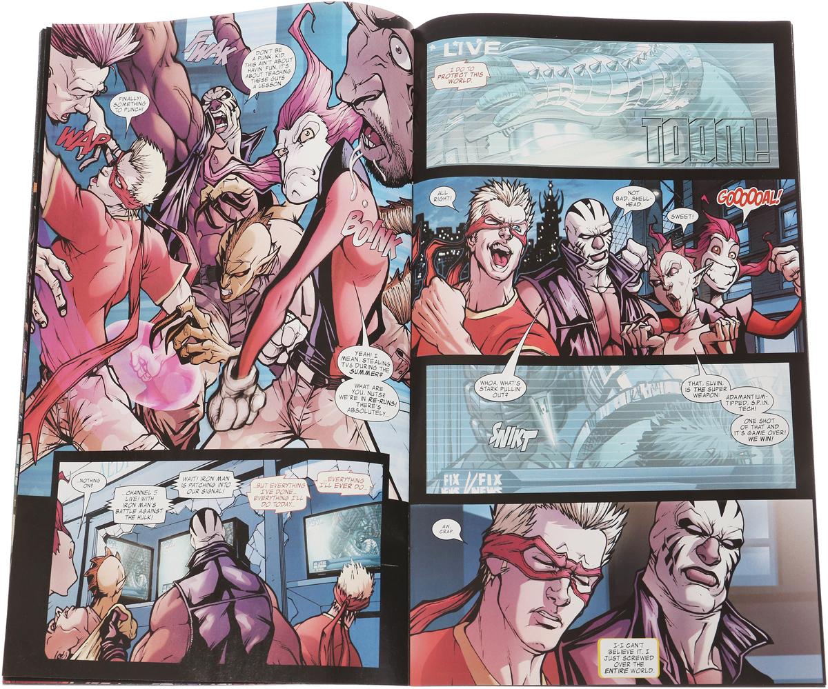 Avengers: The Initiative #4 World War Hulk Tie-In