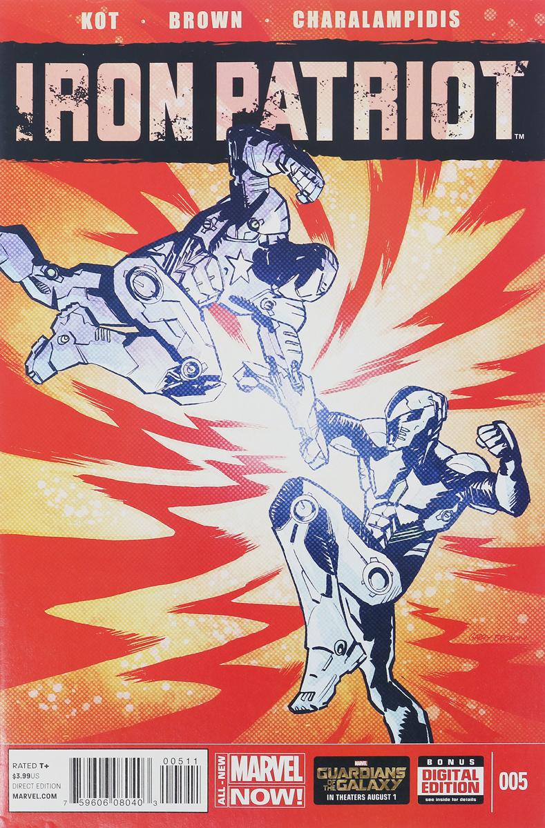 Ales Kot, Garry Brown, Jim Charalampidis Iron Patriot #5