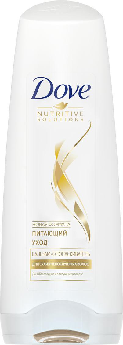 Dove Nutritive Solutions Бальзам-ополаскиватель Питающий уход 200 мл шампунь сухой hair therapy refresh care dove 200 мл