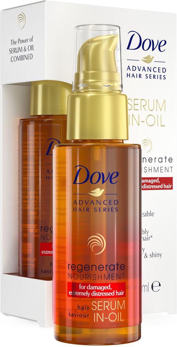 """Dove """"Advanced Hair Series"""" сыворотка-масло """"Прогрессивное восстановление"""", 50 мл"""