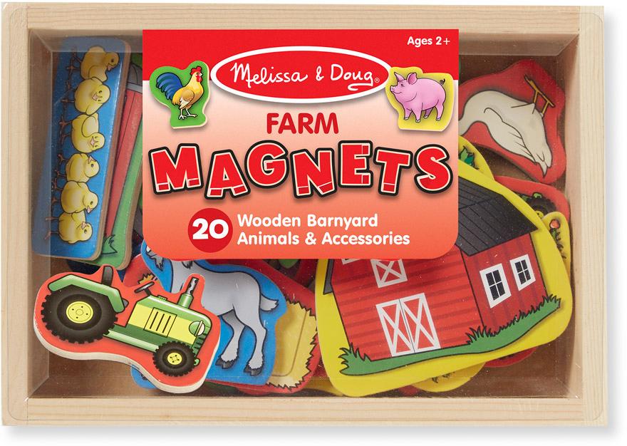 Melissa & Doug Магнитные игры Ферма магнитные игры переодень элис melissa