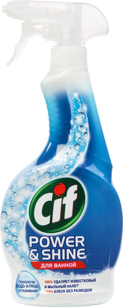 Средство чистящее для ванной Cif Power&Shine. Легкость чистоты, 500 мл авиабилеты в cif