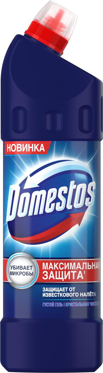 Универсальное чистящее средство Domestos Кристальная чистота, 1 л domestos средство универсальное чистящее кристальная чистота 1л