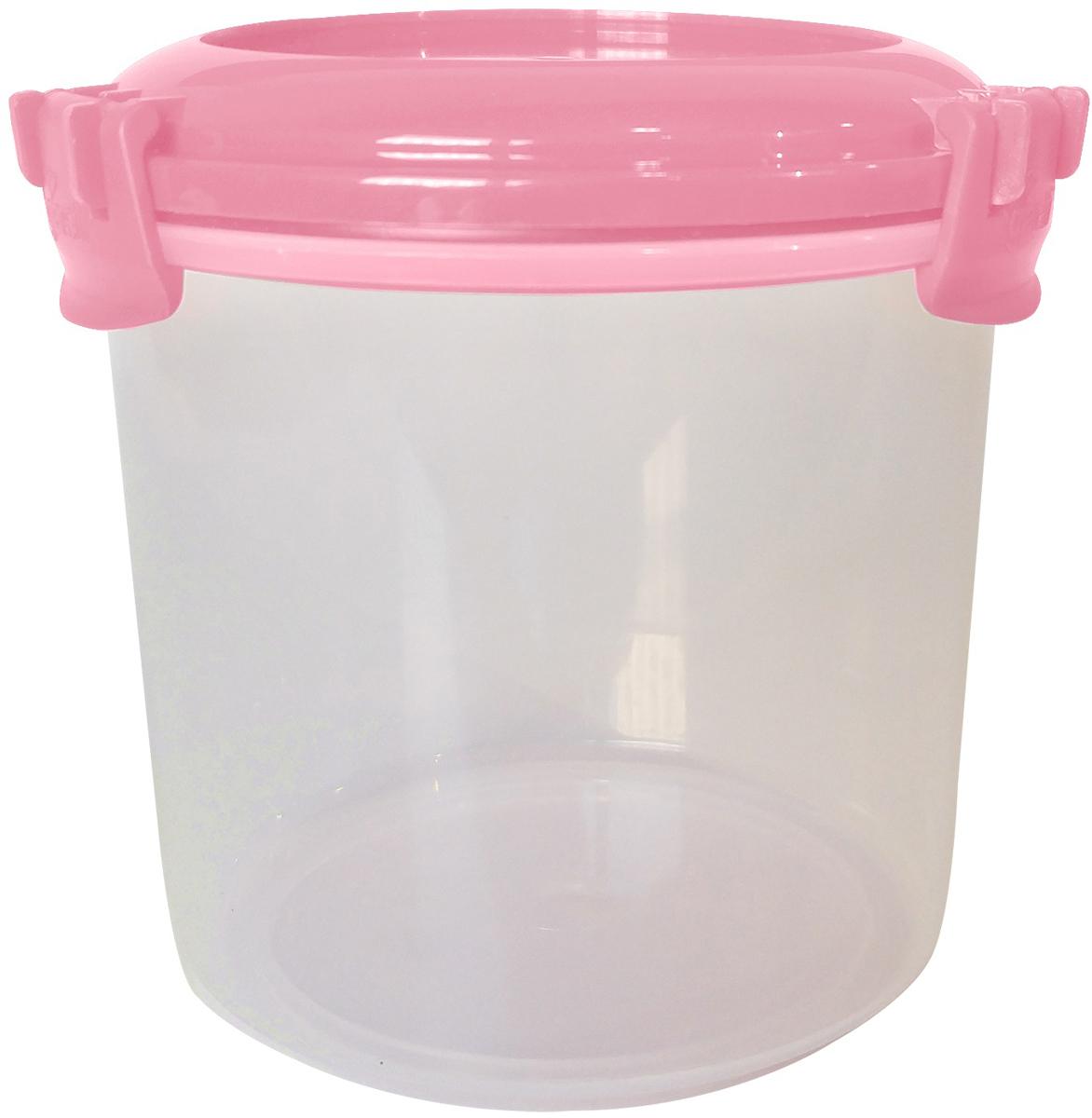 Емкость для продуктов Giaretti Fresco, цвет: клубничный лед, 0,7 л емкость для продуктов giaretti цвет оливковая роща 1 35 л