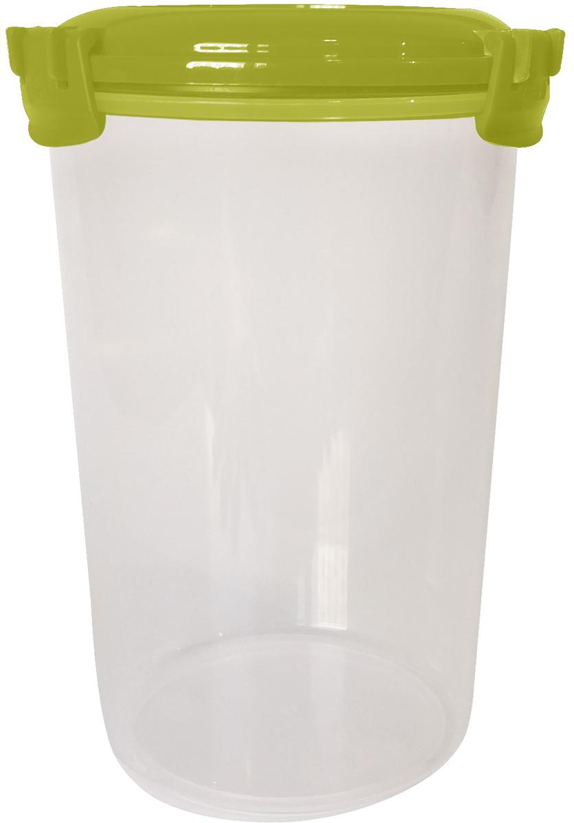 Емкость для продуктов Giaretti Fresco, цвет: оливковая роща, 1,1 л емкость для продуктов giaretti цвет оливковая роща 1 35 л