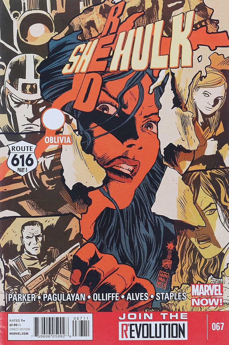 Jeff Parker, Carlo Pagulayan Red She-Hulk #67