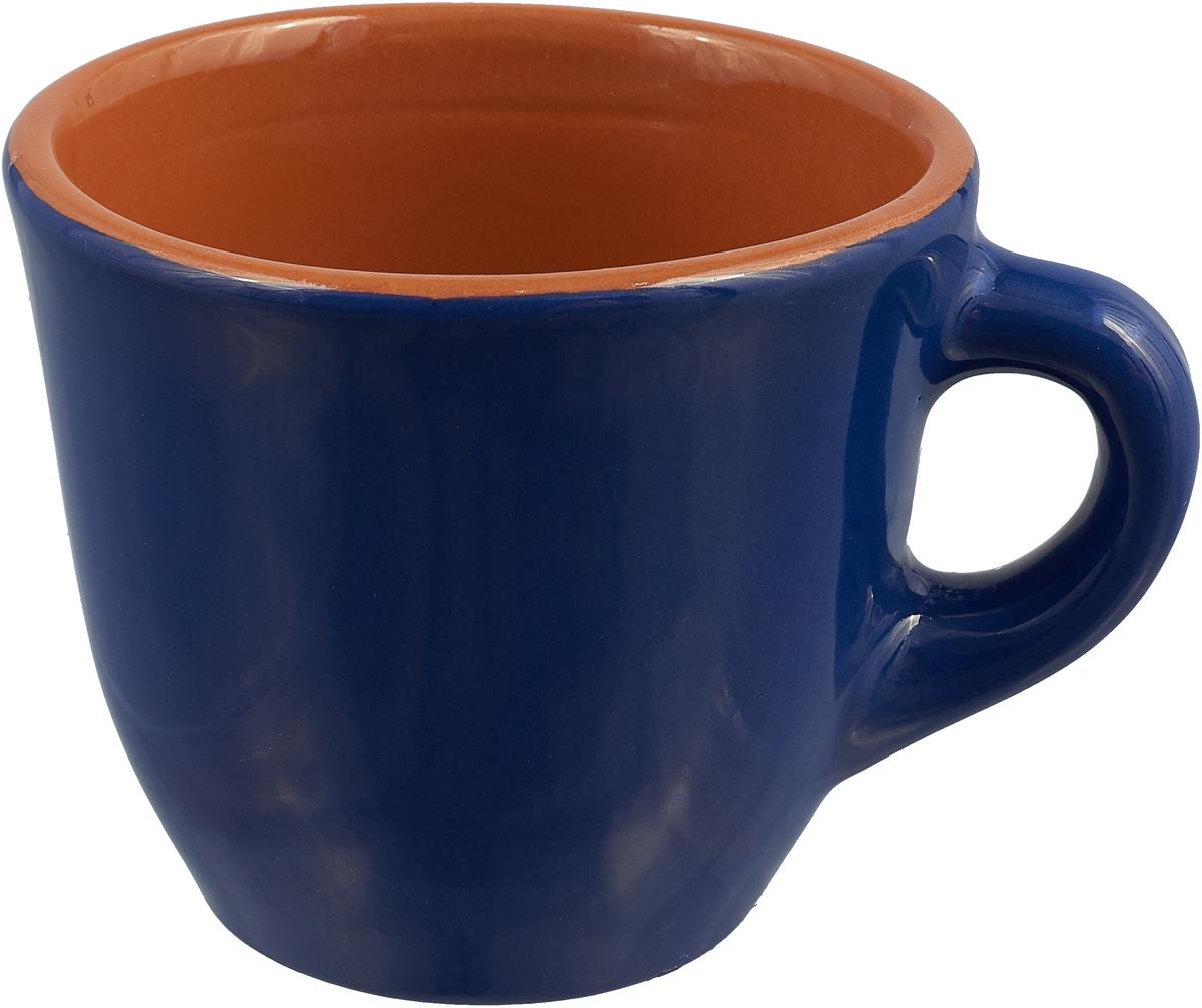 """Чашка чайная Борисовская керамика """"Радуга"""", цвет: синий, 300 мл"""