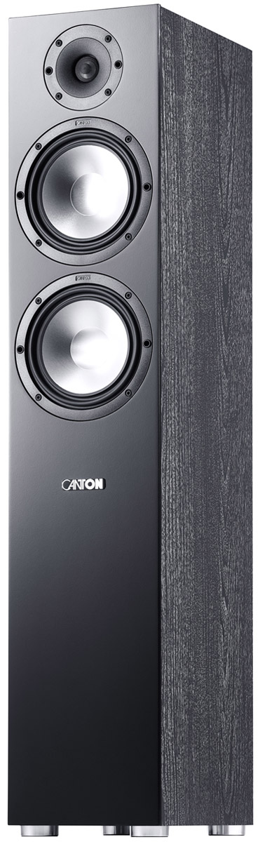 Акустическая система Canton GLE 476.2, Black (1 шт.) динамик нч scanspeak 30w 4558t06 1 шт