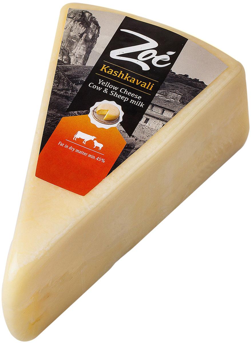 Zoe Kashkavali Сыр из коровьего и овечьего молока, 45%, 330 г дмитриев владимир николаевич кефир лечебный напиток из коровьего молока