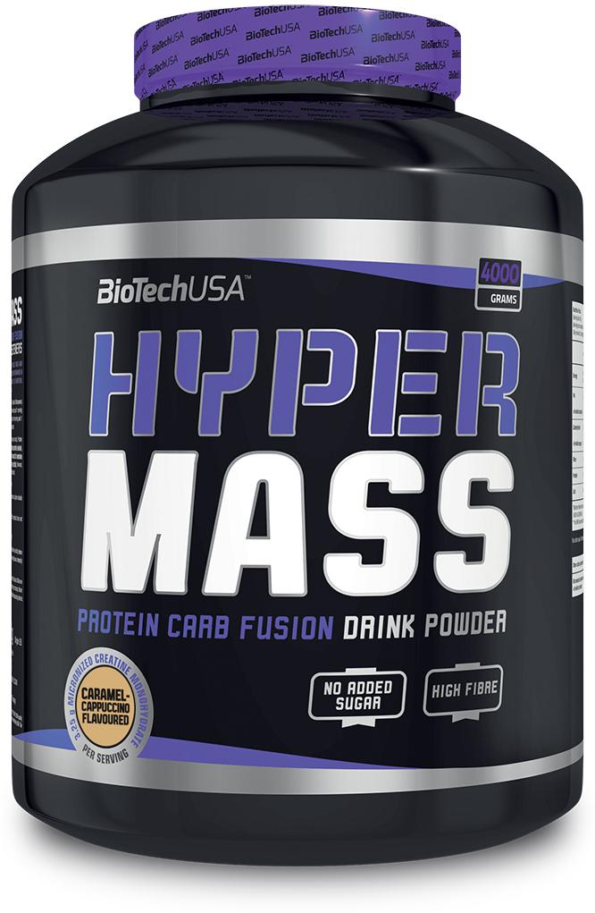 Гейнер BioTech USA Hyper Mass, карамель-капучино, 4 кг добавки для роста мышц