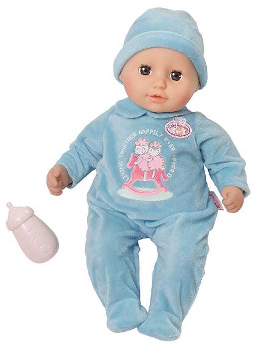 Zapf Creation Кукла-мальчик с бутылочкой Baby Annabell