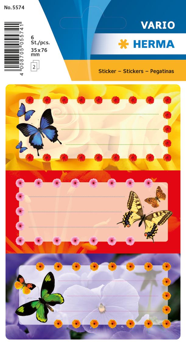 Herma Наклейки Vario Цветные Бабочки александр митягин und борис хлопов аппаратура для уничтожения информации с современных носителей