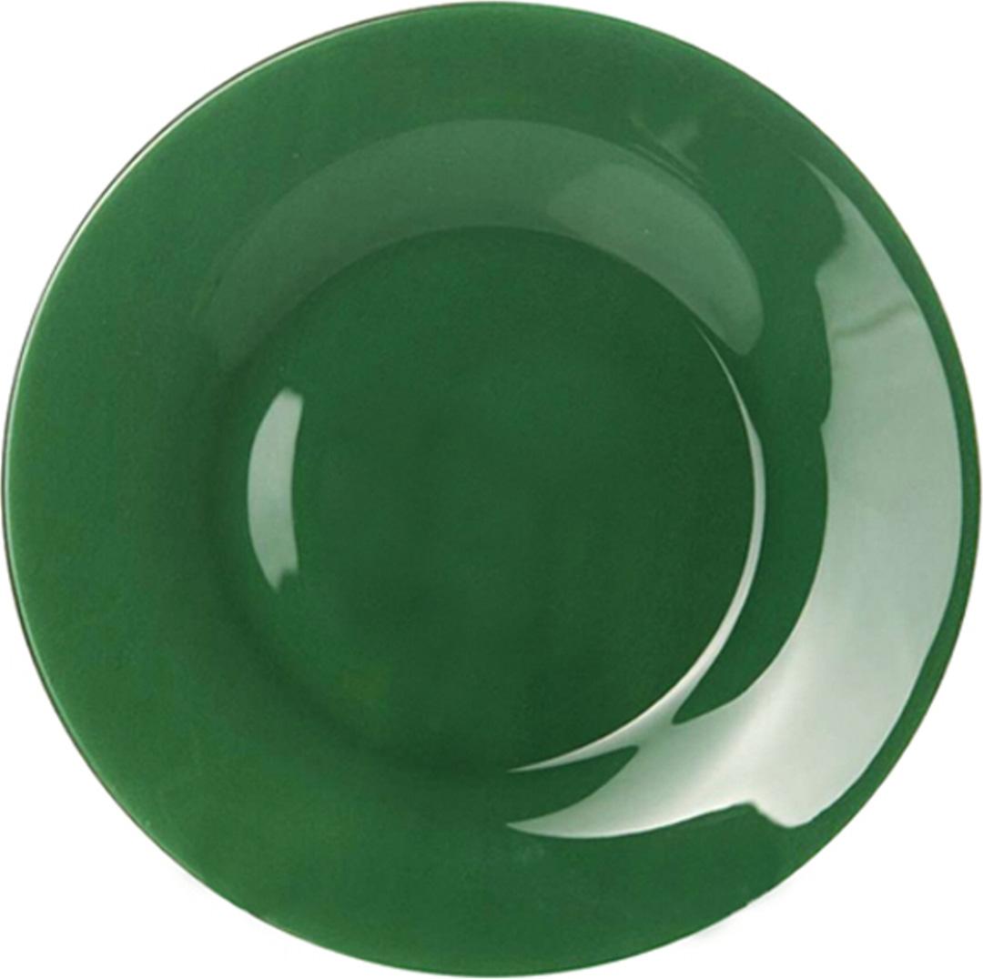 """Тарелка обеденная Pasabahce """"Green City """", цвет: зеленый, диаметр 26 см"""