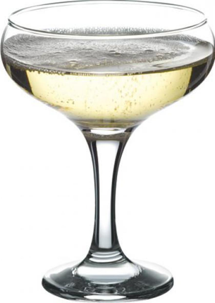 Фото - Набор фужеров для шампанского Pasabahce Bistro , цвет: прозрачный, 275 мл, 6 шт набор бокалов для мартини pasabahce bistro 170 мл