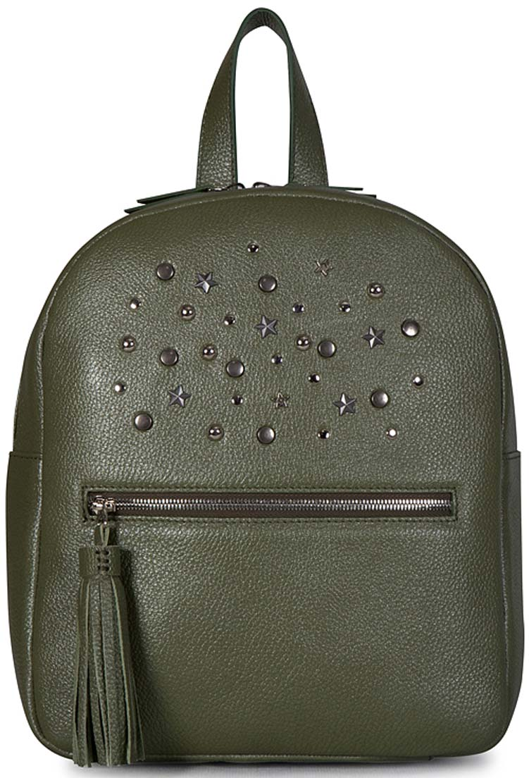 Рюкзак женский Fabio Bruno, цвет: оливковый. R-1718/1 рюкзак bruno rossi b36 nero