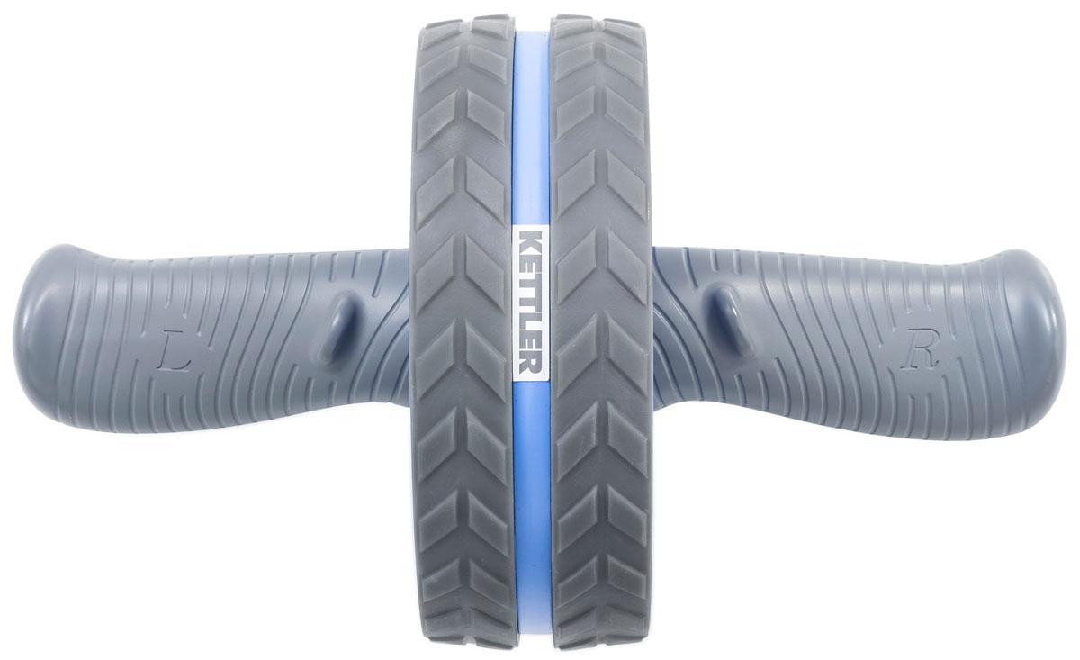 Ролик для пресса Kettler, цвет: голубой, 29 х 18 см тренажер для пресса wonder core smart вандер кор смарт