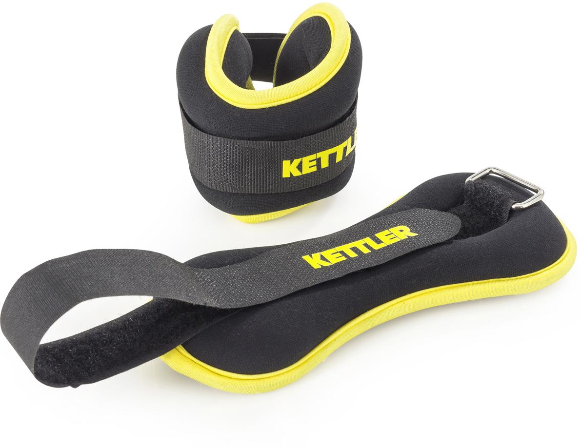 """Набор <b>утяжелителей</b> """"<b>Kettler</b>"""", цвет: черный, 1 кг, 2 шт — купить в ..."""