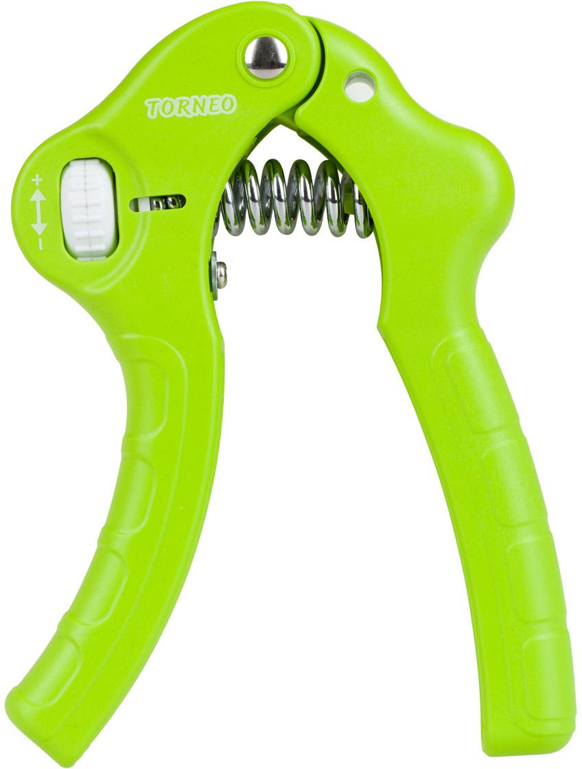 Эспандер кистевой Torneo, цвет: светло-зеленый