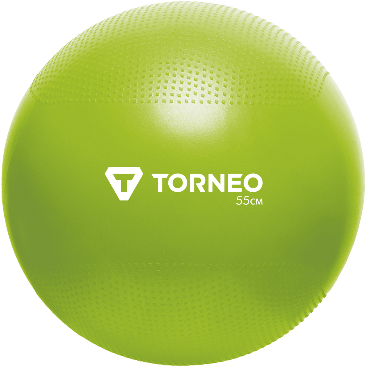 Мяч гимнастический Torneo, цвет: зеленый, диаметр 55 см мяч гимнастический z sports hopping ball 55 см