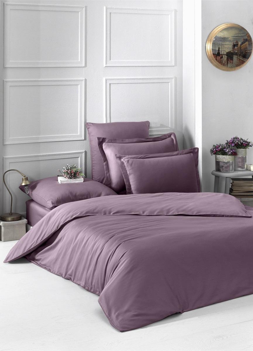 """Комплект белья """"Karna"""", 1,5-спальный, наволочки 50x70, 70x70, цвет: розовый. 2985"""