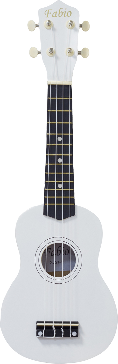 Fabio XU21-11, White укулеле цена