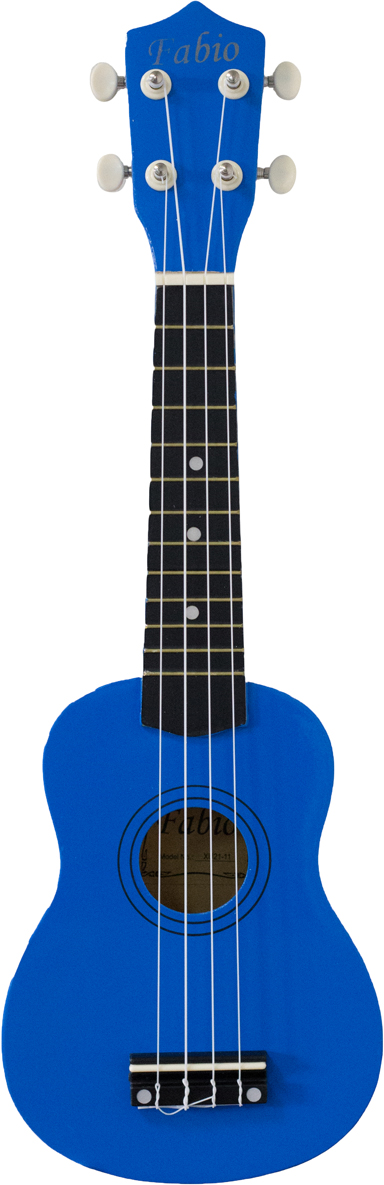 Fabio XU21-11, Blue укулеле цена