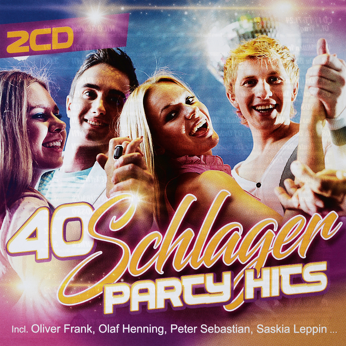 40 Schlager Party Hits (2 CD) christmas party hits