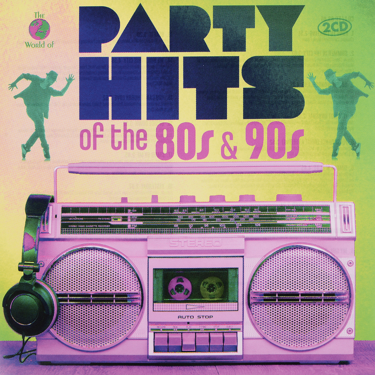 Various Artists. Partyhits Of The 80s & 90s (2 CD) цена
