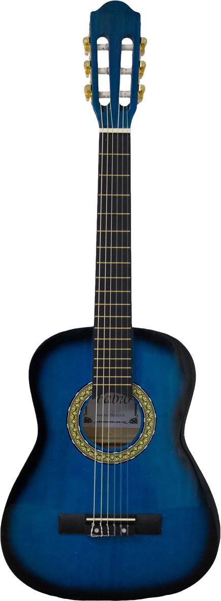 Fabio FB3410, Blue классическая гитара