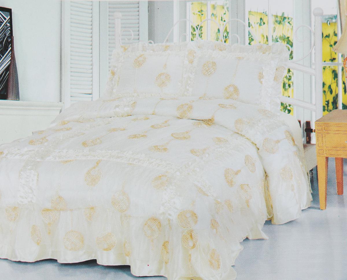 Фото - Комплект белья Василиса Делюкс, 2-х спальное, наволочки 50x70, 70x70. 165405 комплект постельного белья василиса белые одуванчики