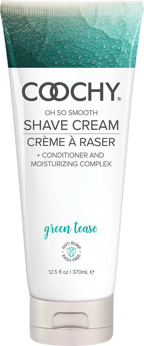 Фото - Coochy Увлажняющий комплекс Green Tease, 370 мл coochy oh so smooth shave cream sweet nectar 15 мл увлажняющий комплекс ароматизированный
