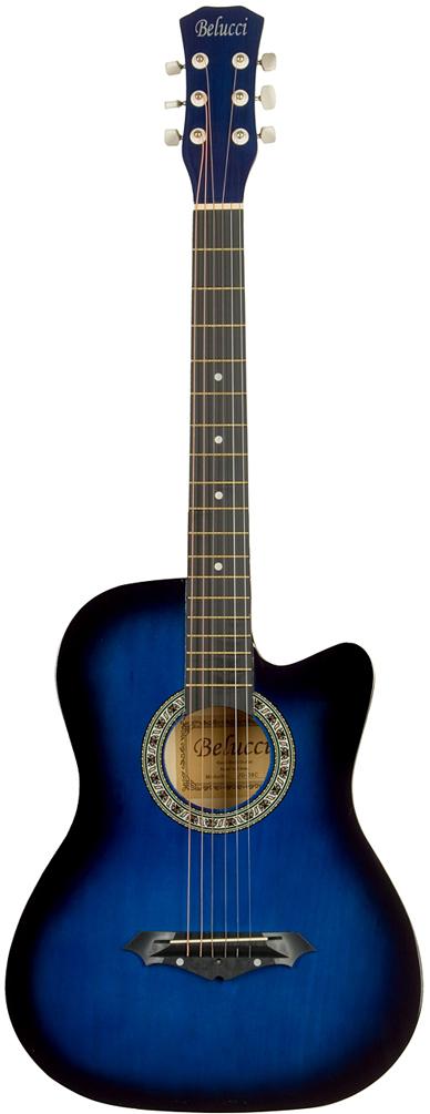 Belucci BC3810, Blue акустическая гитара цена