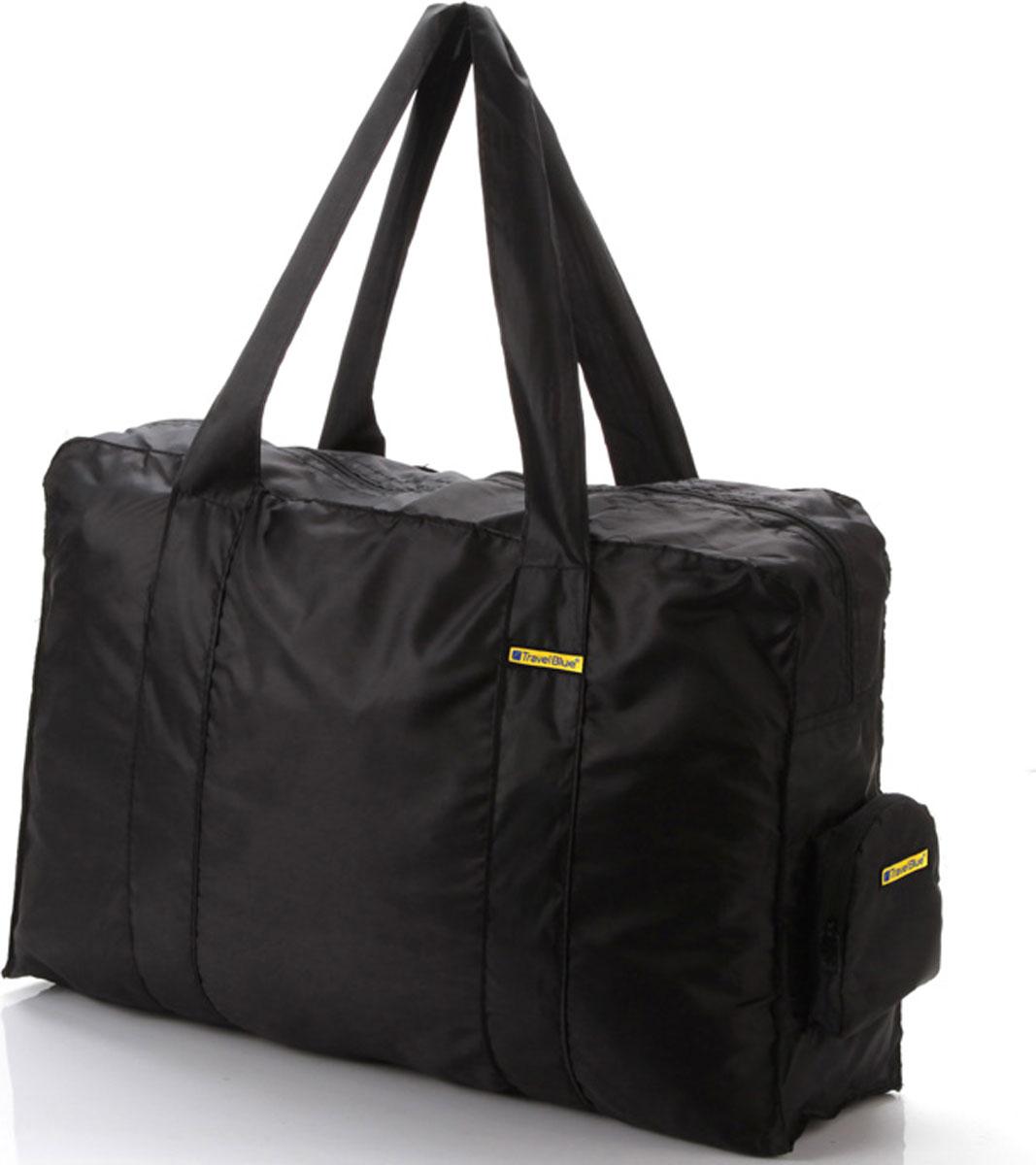 Сумка дорожная Travel Blue Folding Carry Bag, цвет: черный, 16 л сумка дорожная travel blue large carry bag цвет черный 48 л