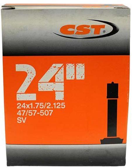 Велокамера CST Schrader, 24 x 1.75/2.125 велокамера 24