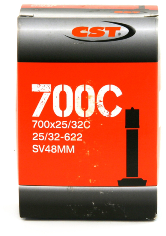 Велокамера CST Schrader, 700 x 25/32C, 48 мм велокамера cst presta 700 x 25 32c 48 мм