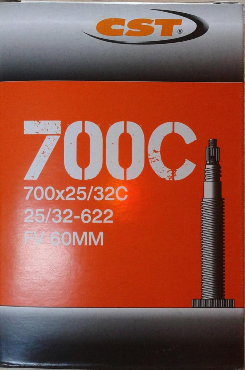 Велокамера CST Presta, 700 x 25/32C, 48 мм велокамера cst presta 700 x 25 32c 48 мм