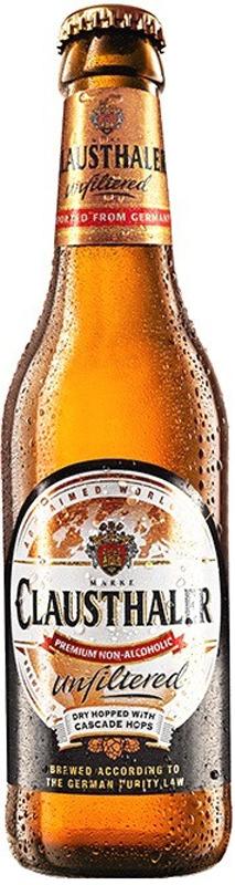 Clausthaler Unfiltered Пиво безалкогольное нефильтрованное светлое, 0,33 лBCLAUF-033B24Пиво Clausthaler считается лучшим безалкогольным пивом Европы. Благодаря тому, что его не фильтруют, пиво обладает насыщенным ароматом и сбалансированным, богатым вкусом. Как и другие сорта пива, Clausthaler готовят по запатентованному компанией процессу, который предотвращает создание спирта путем брожения. Таким образом, пиво не подвергают дополнительной обработке для удаления спирта.Пиво компании Clausthaler считают самым популярным безалкогольным брендом в Европе. Теперь линейка их продукции пополнилась нефильтрованным пивом. Попробуйте его и оцените новый вкус!Пиво Clausthaler выпускается немецкой пивоварней Binding-Brauerei во Франкфурте на Майне с 1979 года. За короткое время марке Clausthaler удалось не просто выйти в передовые, но и поднять на высокий уровень саму категорию безалкогольного пива. Clausthaler производится в строгом соответствии с немецким законом о чистоте пива, из высококачественных ингредиентов, с использованием новых технологий, основанных на результатах длительных многочисленных испытаний, и проходит более 100 тысяч контролей качества в год. Что касается технологии, то она хранится в строжайшем секрете, известно только, что алкоголь не удаляется из сваренного обычным способом пива, а вообще не возникает при варке пива.Уважаемые клиенты!Обращаем ваше внимание на то, что упаковка может иметь несколько видов дизайна. Поставка осуществляется в зависимости от наличия на складе.