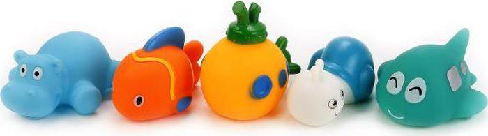 Играем вместе Набор игрушек для ванной 5 шт В1580626 играем вместе набор игрушек для ванной белоснежка и гномы 3 шт