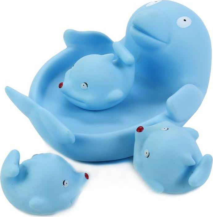 Играем вместе Набор игрушек для ванной Дельфин-мыльница 3 шт В1326953 играем вместе набор игрушек для ванной белоснежка и гномы 3 шт
