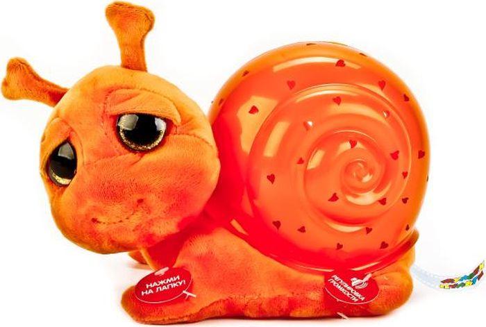 Мульти-Пульти Мягкая игрушка Проектор-ночник Улитка мягкая игрушка мульти пульти проектор ночник улитка свет звук 7 колыбельных в кор в кор 6шт