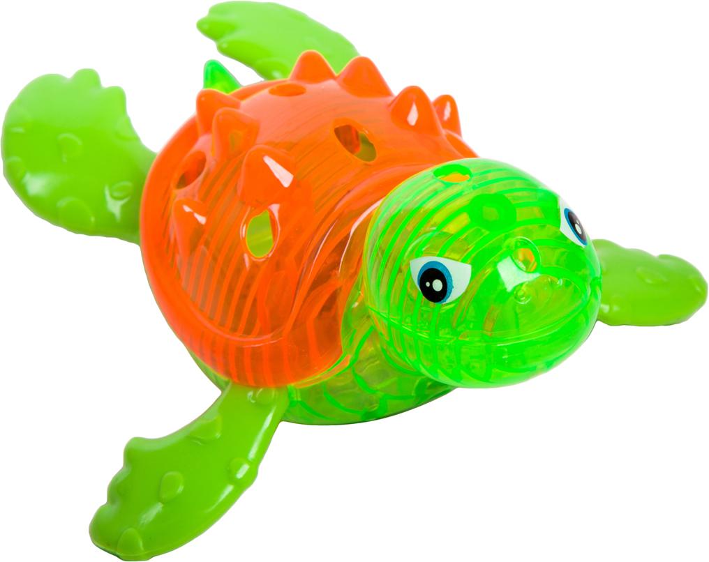 Игрушка для ванной Bondibon Играем в воде Черепаха, цвет в ассортименте bondibon игрушка для ванной играем в воде утенок цвет желтый