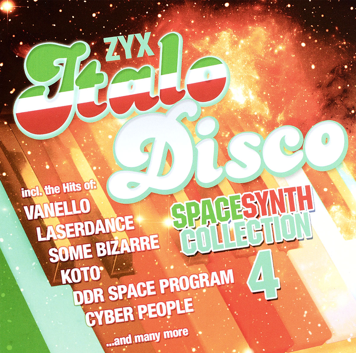 Various Artists. Italo Disco Spacesynth Collection Vol.4 (2 CD) italo disco collection 4 3 cd
