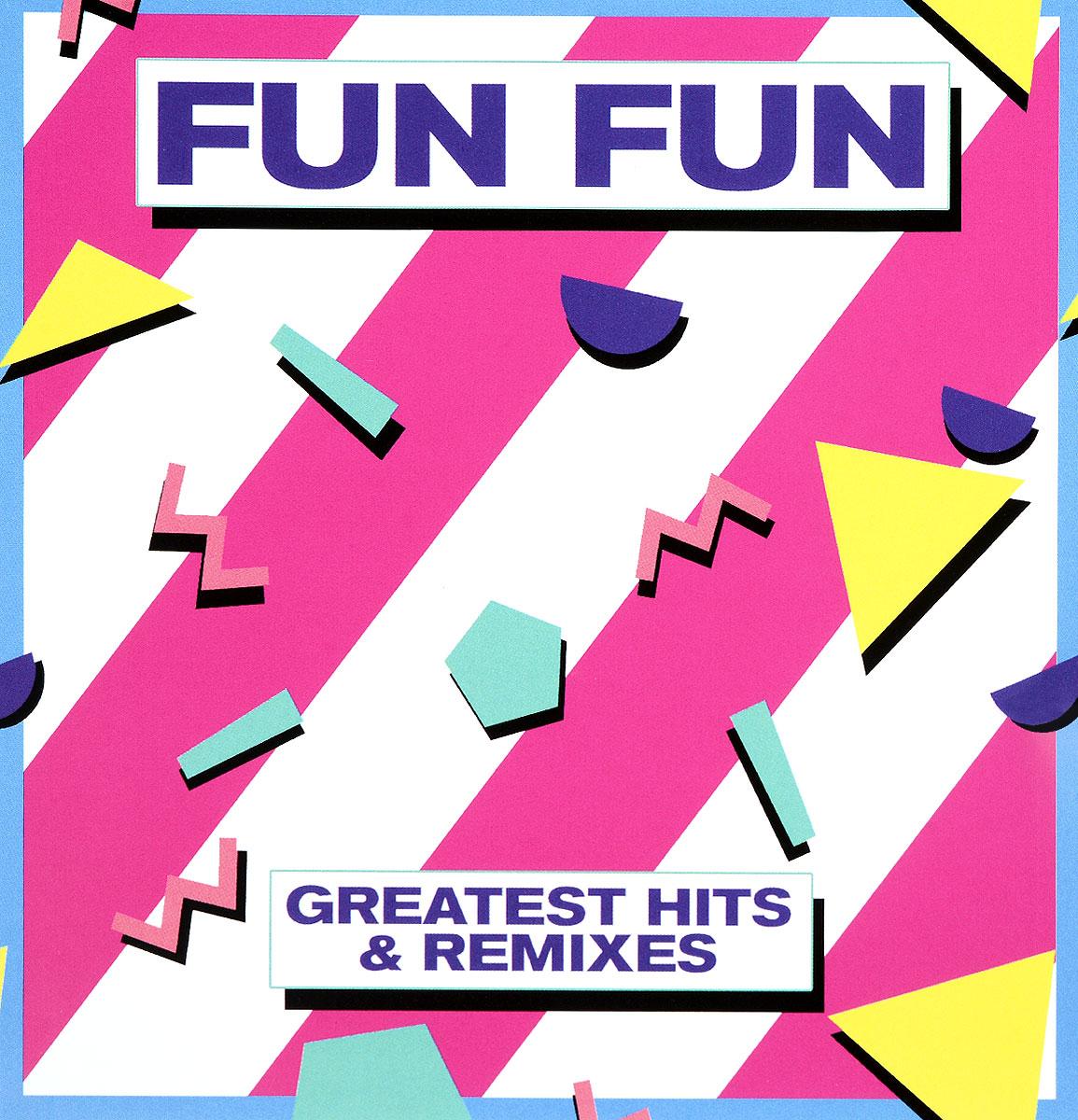 Fun Fun Fun Fun - Greatest Hits & Remixes (2CD) куртка fun fun