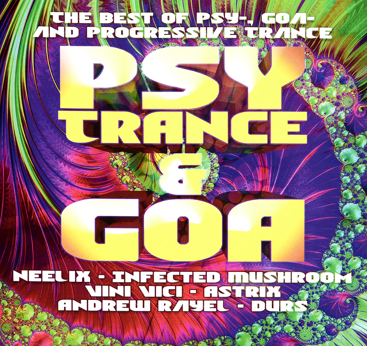 Various Artists. Psy Trance & Goa (2 CD) цена 2017