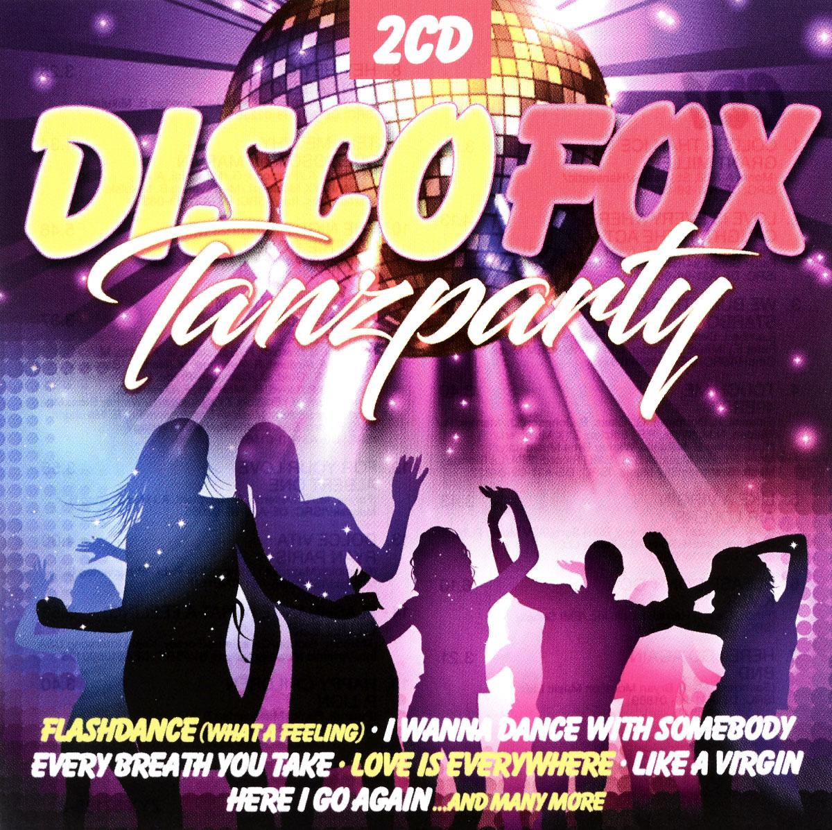 Disco Fox Tanzparty (2 CD) deutscher disco fox 2011 2 cd